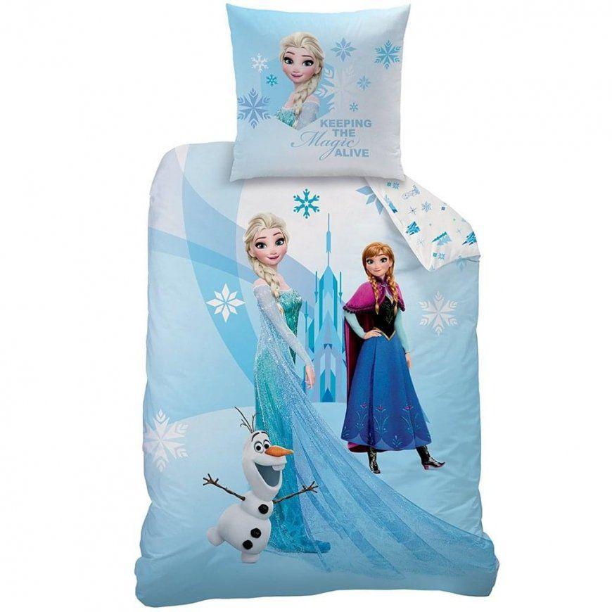 Bettwäsche Frozen Anna Elsa Eiskönigin Kissen  Real von Anna Und Elsa Bettwäsche Biber Photo