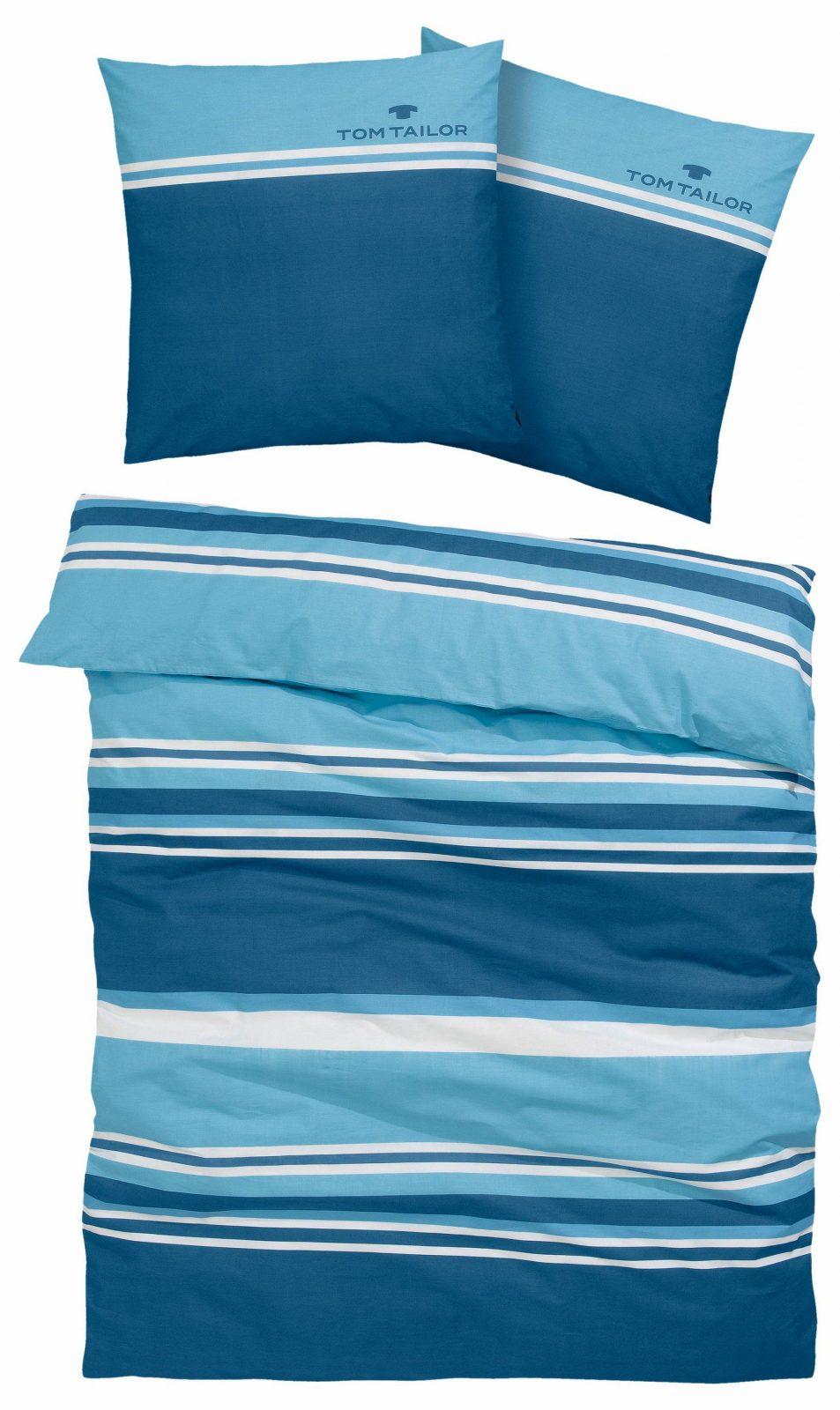 Bettwäsche Jun Tom Tailor Bestellen  Baur von Bettwäsche 155X220 Tom Tailor Bild