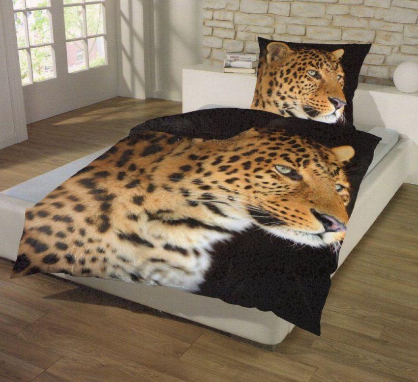 Bettwäsche Leopard Makro  Mikrofaser  135 X 200 Cm  Afrika Style von Bettwäsche Afrika Style Bild