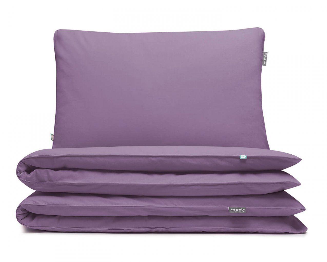 Bettwäsche Lila Uni Farbe  Hochwertige Baumwolle von Bettwäsche Lila Uni Photo