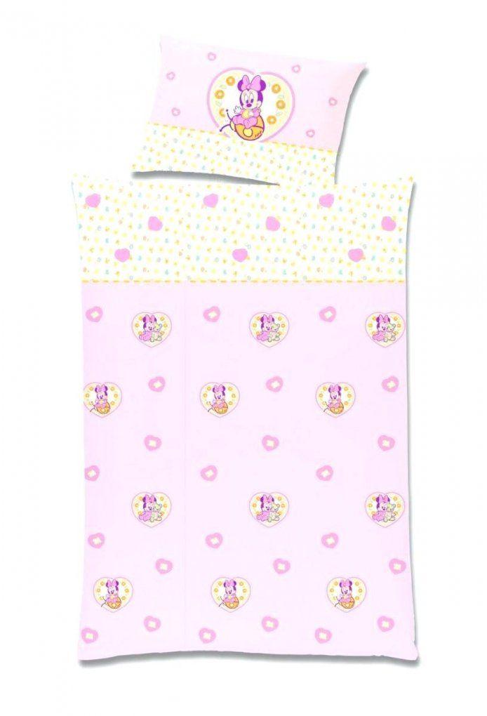 Bettwasche Minnie Mouse Partner Mickey Und Doppelpack 1 X Baby Bibe