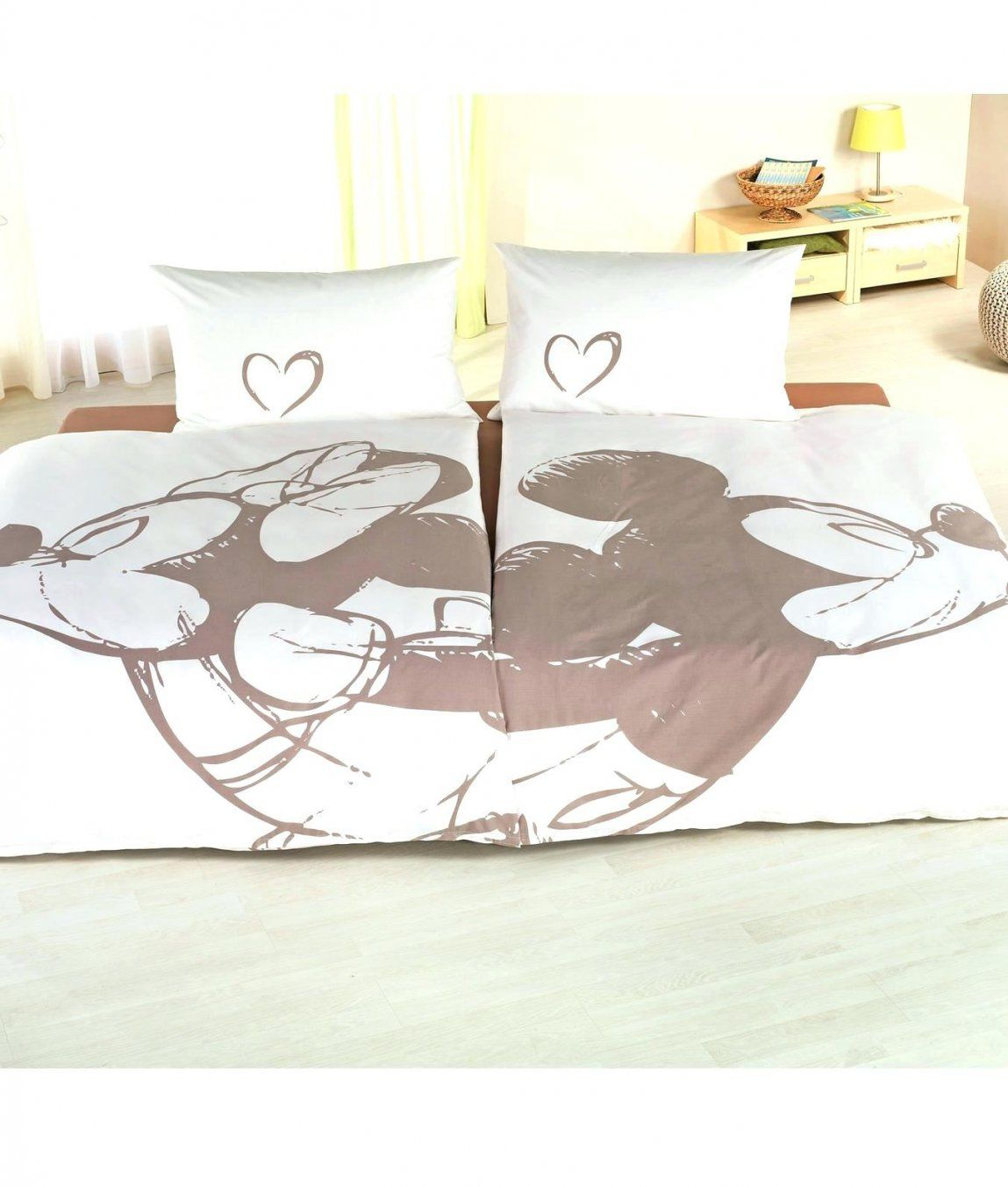 Bettwasche Minnie Mouse Micky Maus Mickey Partner Im 2Er Set 155×220 von Micky Maus Partner Bettwäsche Photo