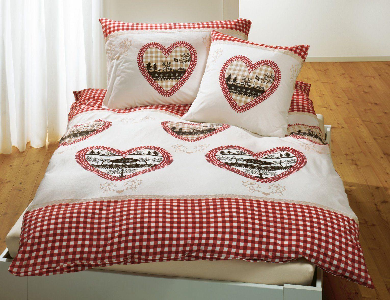 Bettwäsche Mit Herzen Rotweiss Kariert ⋆ Lehner Versand von Bettwäsche Rot Weiß Kariert Photo