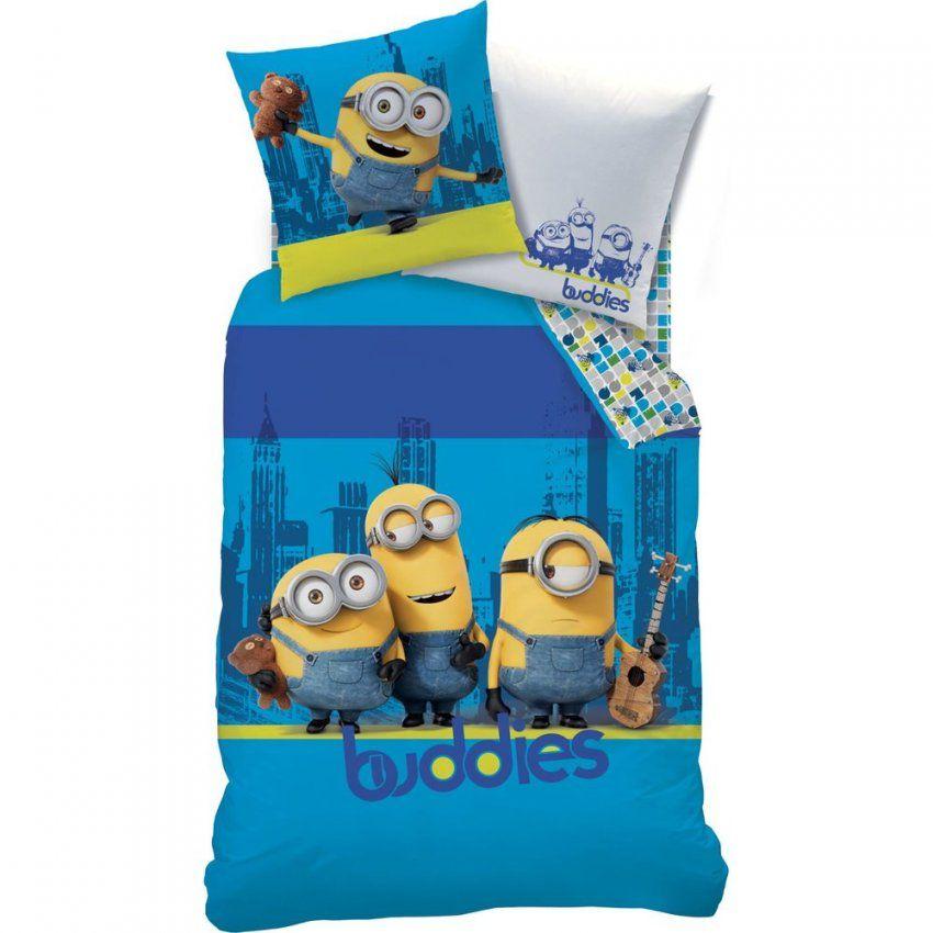 Bettwäsche  Online Versand Für Bettwaren Tagesdecken Und Spannbettl von Minion Bettwäsche 155X220 Bild