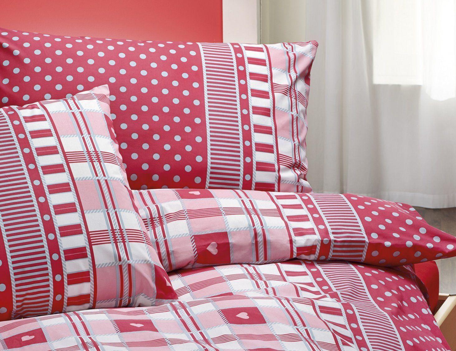Bettwäsche Rot Weiß Gepunktet Haus Design Ideen