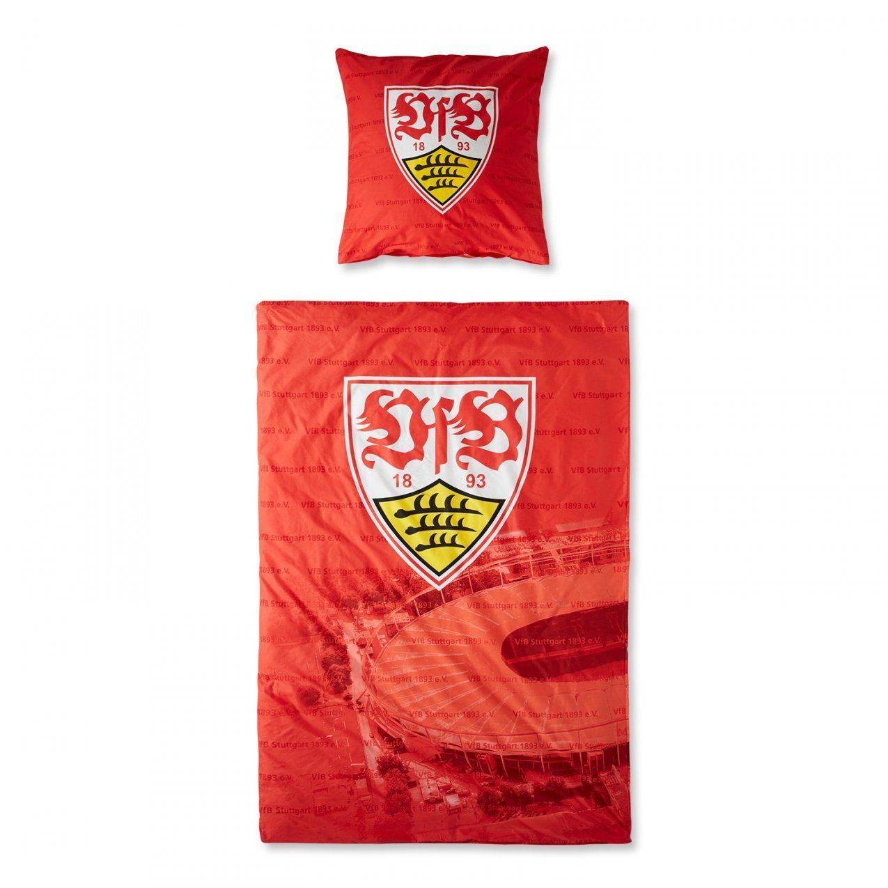 Bettwäsche Rot Günstig Online Kaufen  Real von Bayern München Bettwäsche Günstig Bild