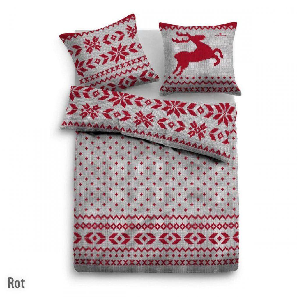 Bettwäsche Rot Online Kaufen ᐅ Dormando von Bettwäsche Rot Weiß Gepunktet Photo