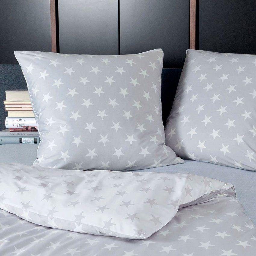Bettwäsche Sterne Grau von Sternen Bettwäsche Tchibo Bild