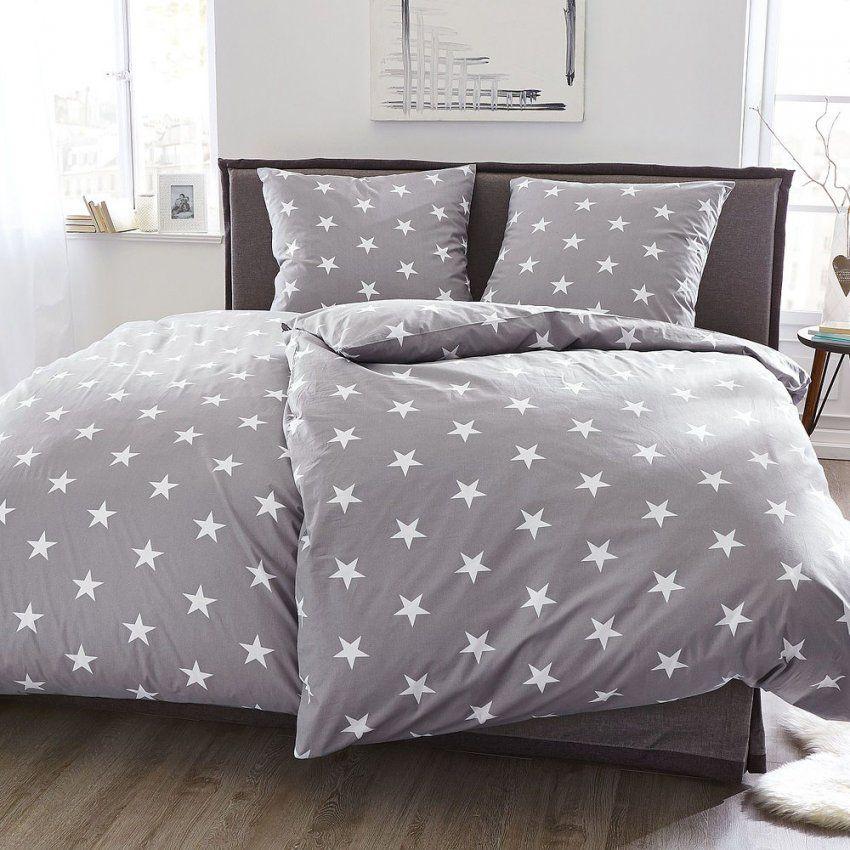 Bettwäsche Sterne Hellgrau 155 X 220 Cm Günstig Online Kaufen  Mein von Bettwäsche Mit Sternen 155X220 Photo