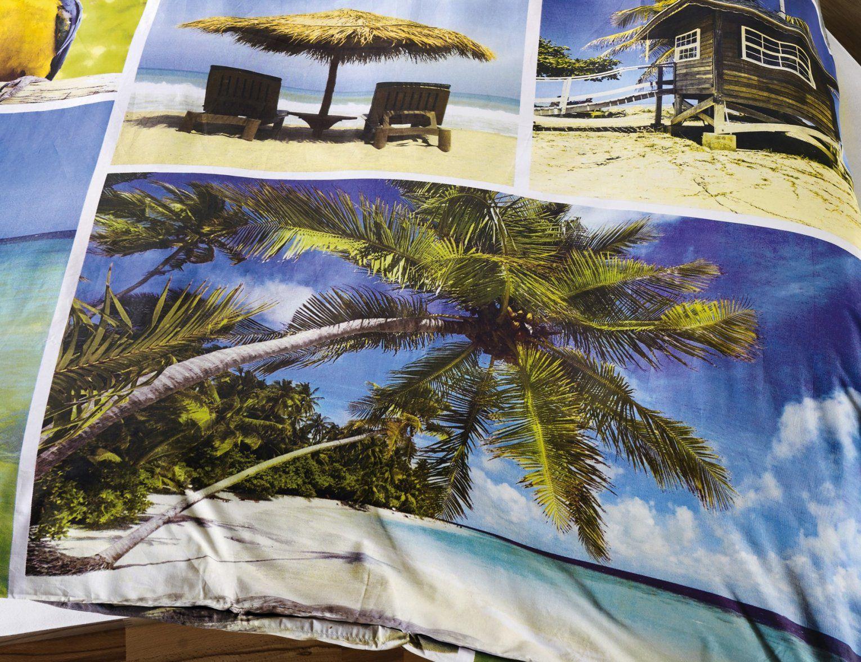 Bettwäsche Strand Palmen & Meer Günstig ⋆ Lehner Versand von Bettwäsche Palmen Motiv Photo