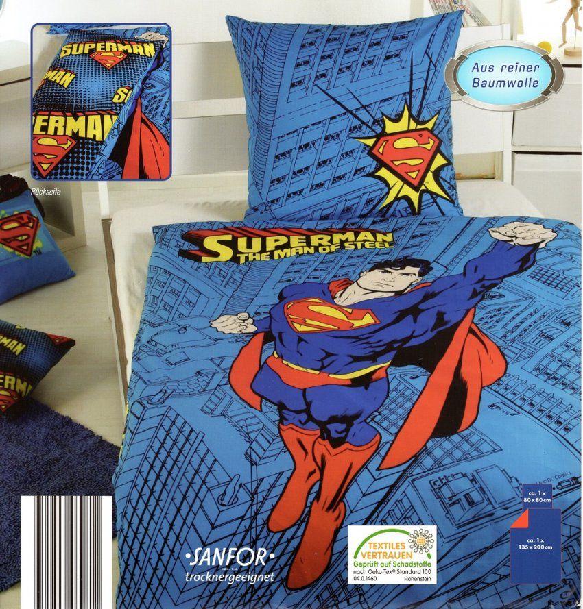 Bettwäsche Superman  Man Of Steel  Baumwolle Renforcé  135X 200Cm von Novel Bettwäsche 155X220 Photo