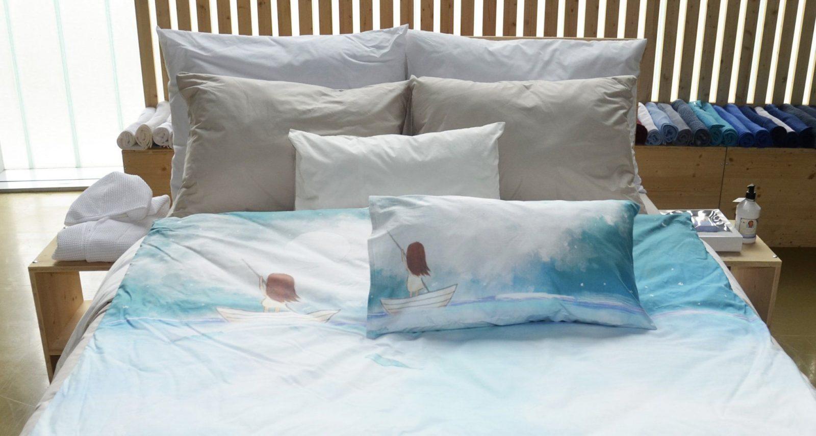 Bettwäsche Und Kissen Günstig Mit Eigenem Foto Bedrucken von Bettwäsche Mit Eigenem Bild Bild