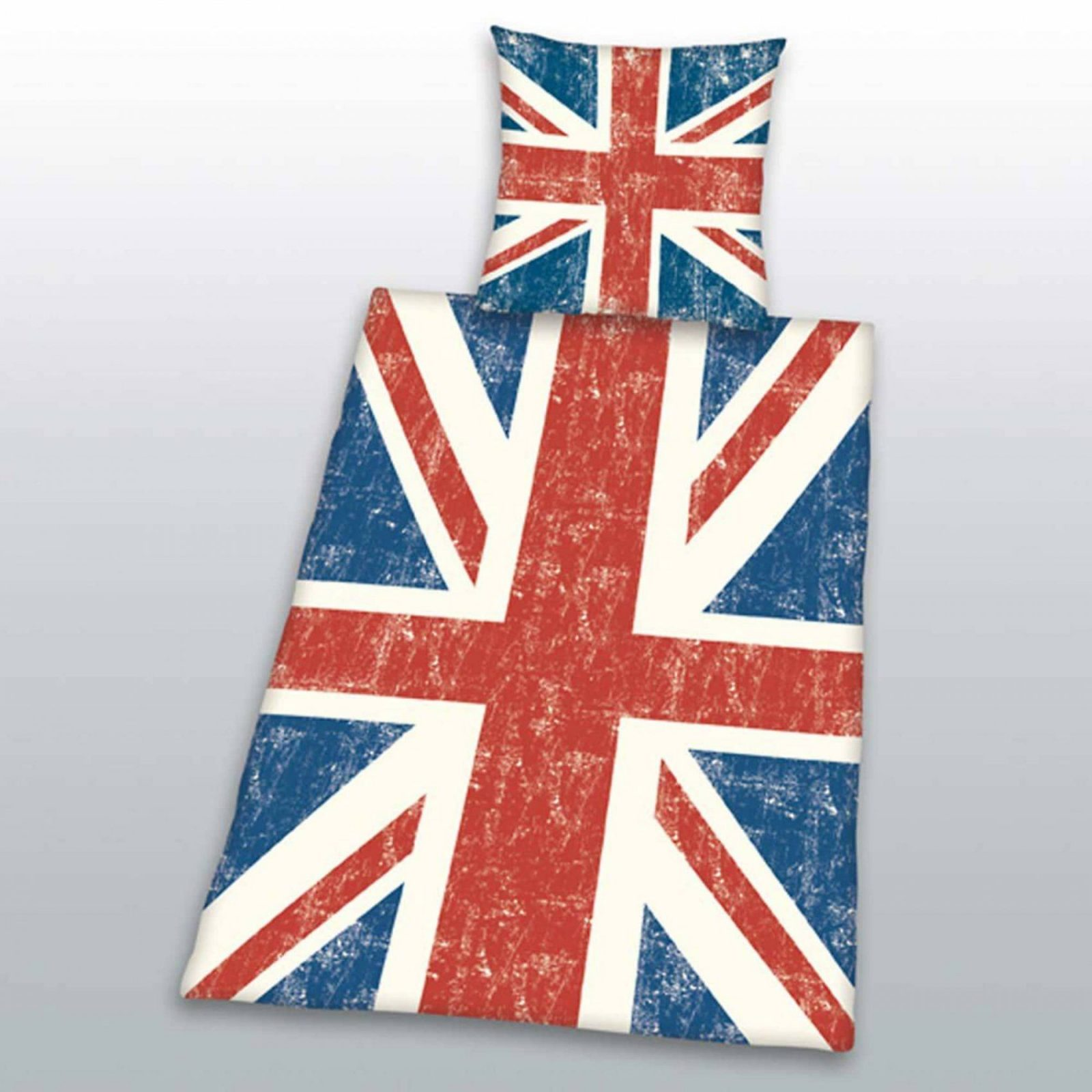 Bettwäsche Union Jack Ökotex Baumwolle Linon von Bettwäsche Union Jack Bild