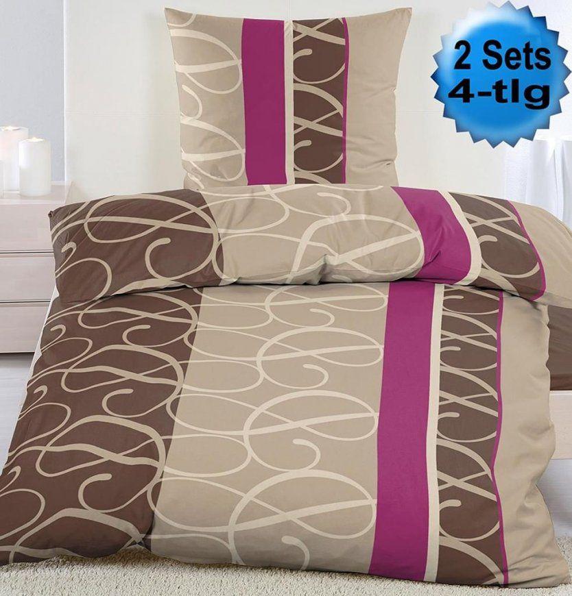 Bettwäsche Violett Günstig Online Kaufen  Real von Billige Bettwäsche 4 Teilig Bild