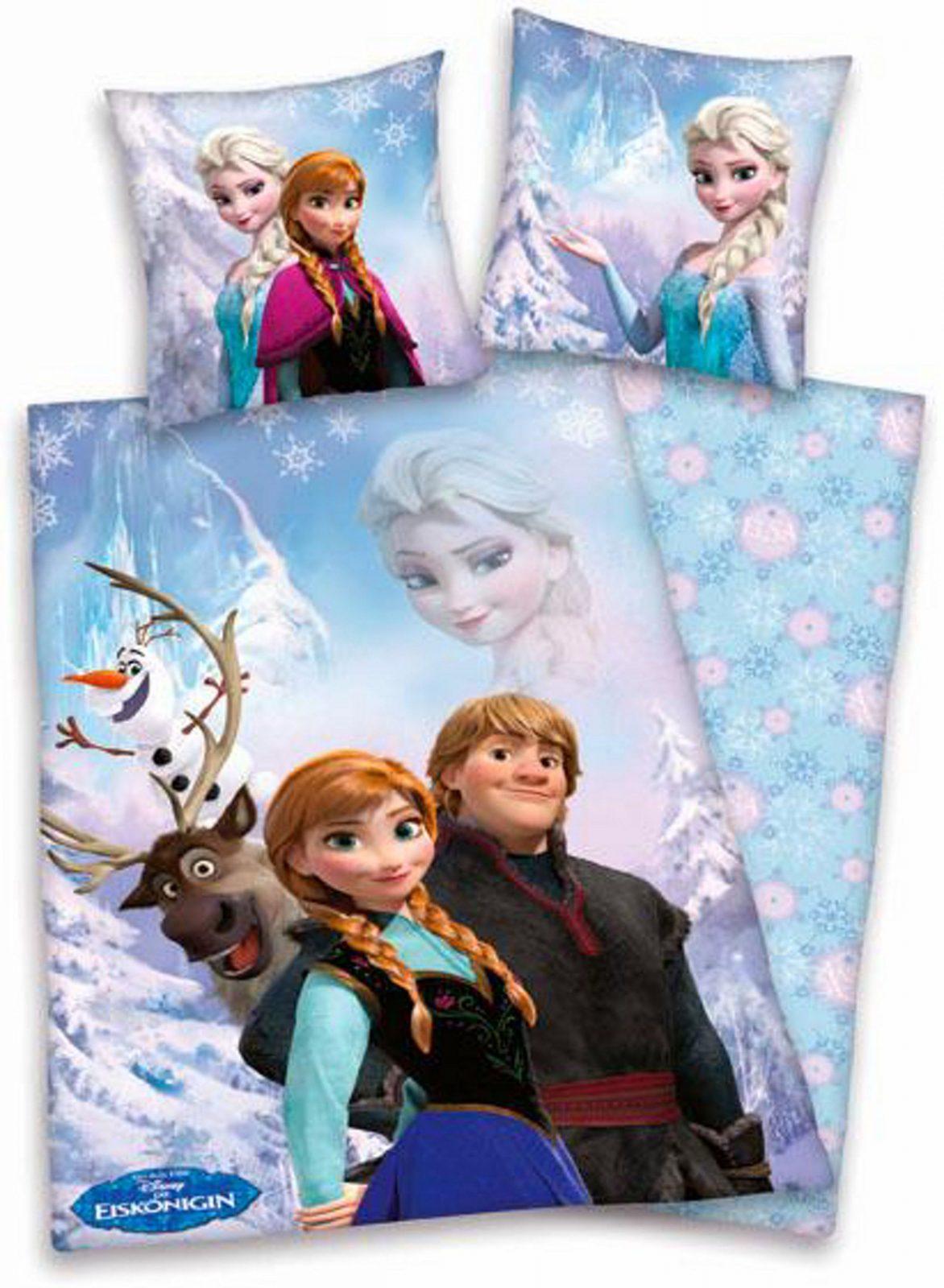 Bettwäsche Walt Disney Eiskönigin  Conferentieproeftuinen von Kinderbettwäsche Die Eiskönigin Photo