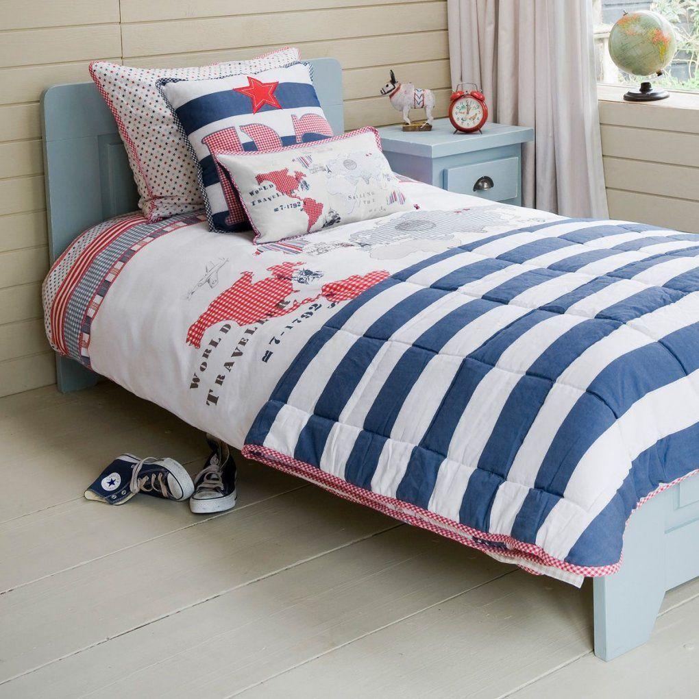 Bettwäsche 'weltkarte' Standardgröße Von Room Seven  Home von Bettwäsche Jugendzimmer Jungen Photo