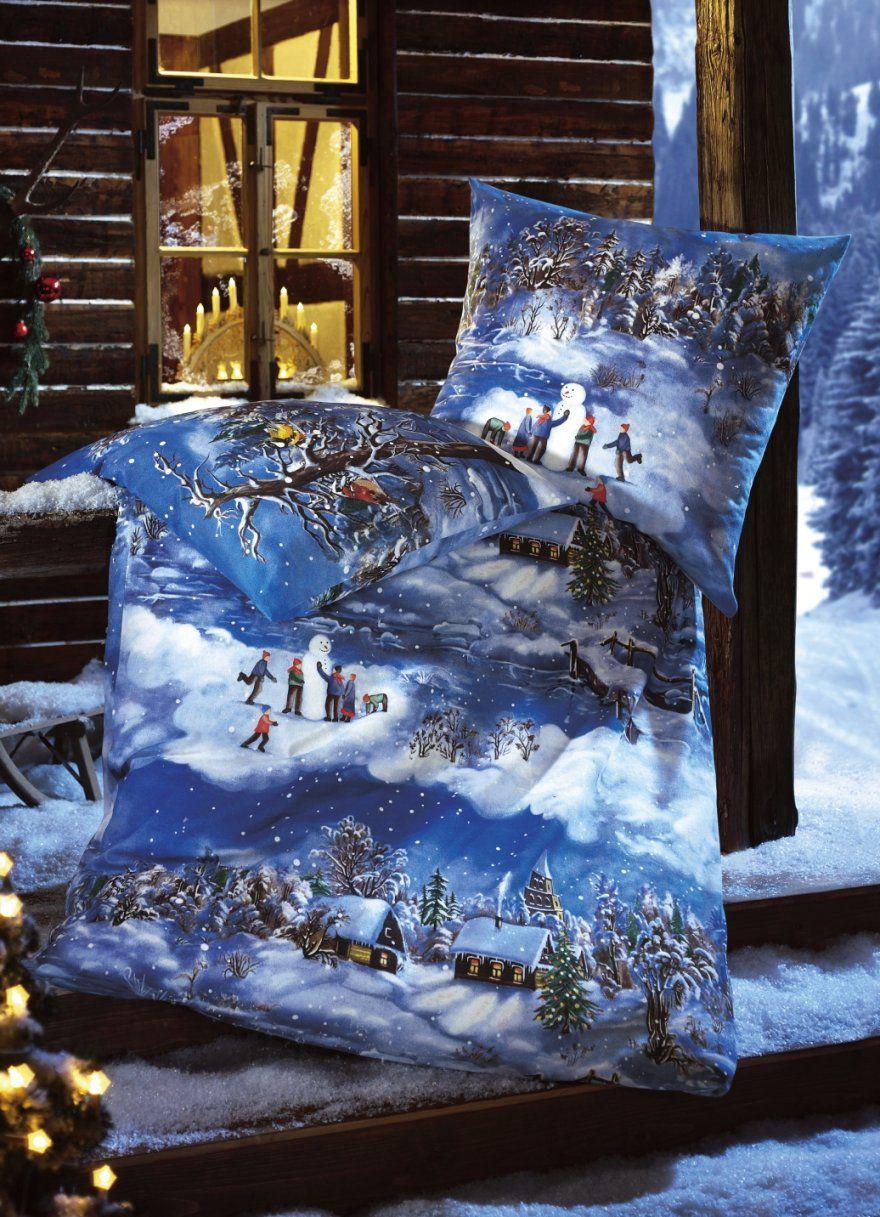 Bettwäsche Wintermotiv 155×220  Conferentieproeftuinen von Biber Bettwäsche Wintermotiv Photo