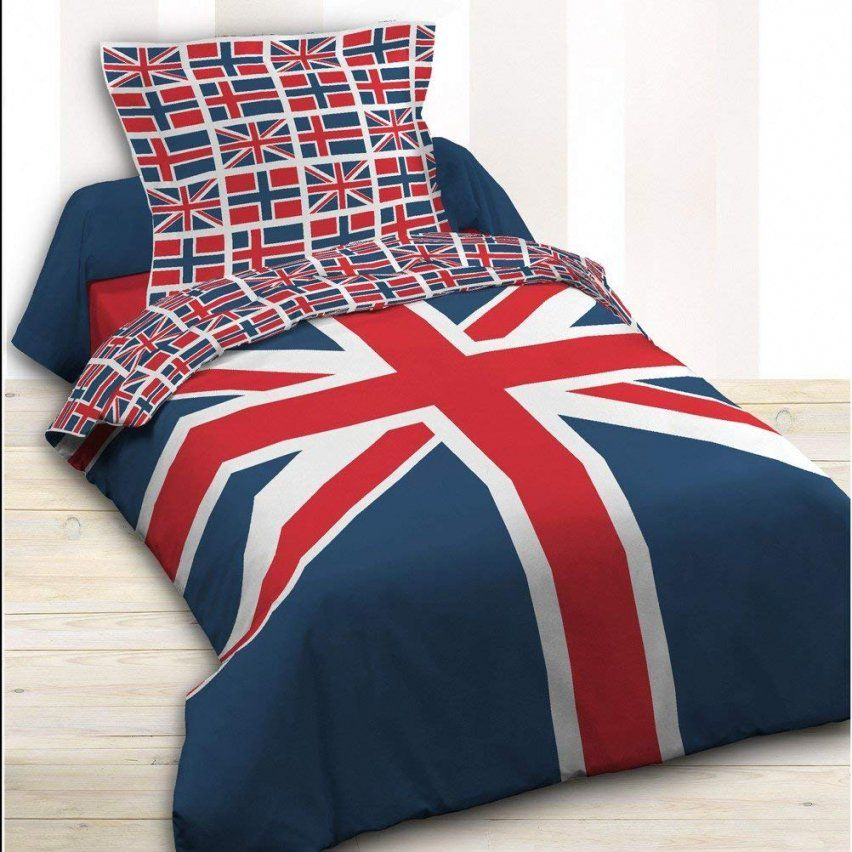 Bettwäscheset Für Standardgröße Union Jack 100 % Baumwolle von Bettwäsche Union Jack Bild