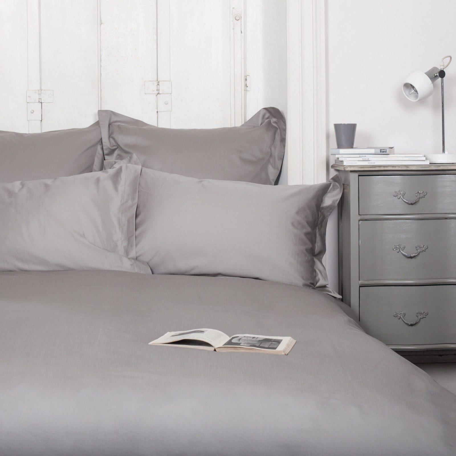 Bettwäscheset Soft Grey von Hotelbettwäsche Erwin Müller Bild