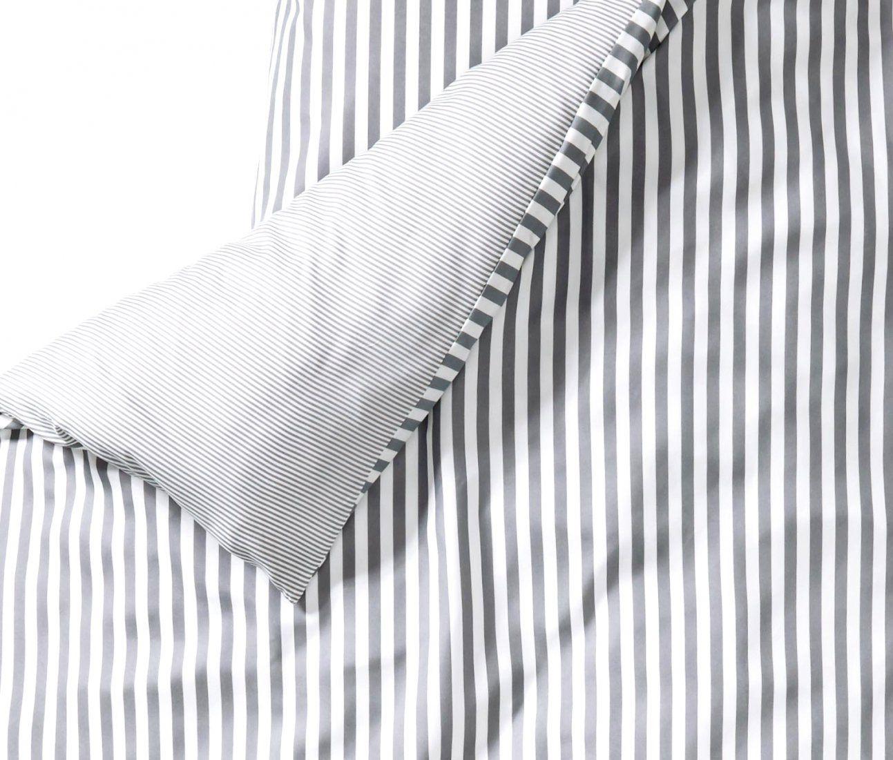 Bezaubernde Ideen Gestreifte Bettwäsche Und Günstige Microfaser Grau von Schwarz Weiß Gestreifte Bettwäsche Bild