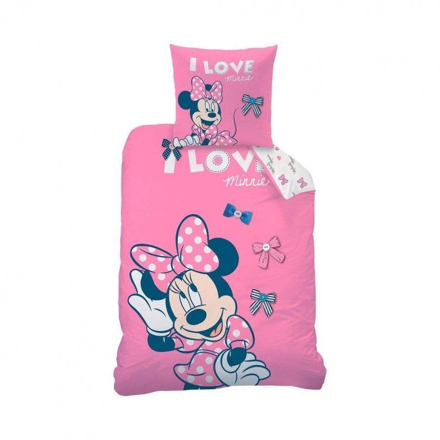 Biber Bettwäsche Disney Minnie Mouse 80 X 80 Cm   Real von Mickey Mouse Bettwäsche 100X135 Bild