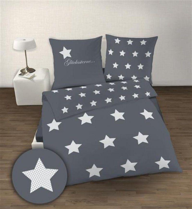 Biber Bettwäsche Günstig Online Kaufen  Real von Aldi Bettwäsche Sterne Bild