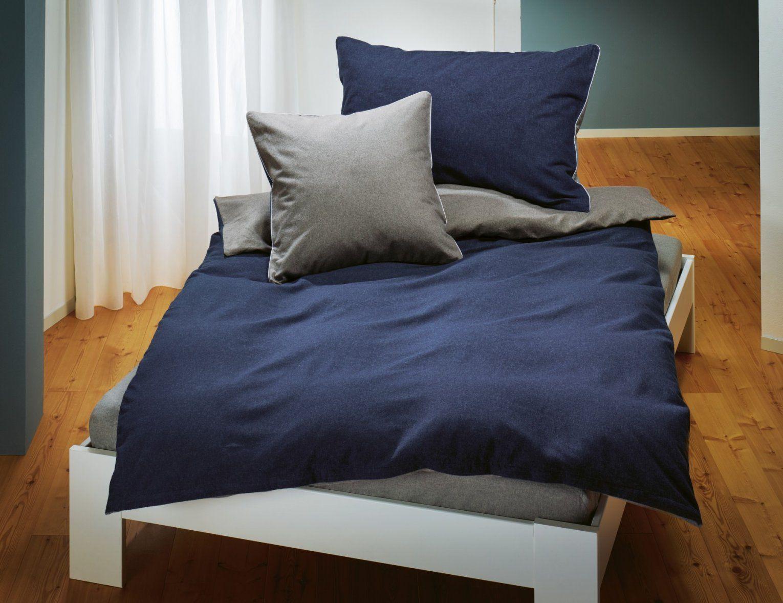 Biber Bettwäsche Meliert Günstig  Bettwaeschech von Flanell Oder Biber Bettwäsche Bild
