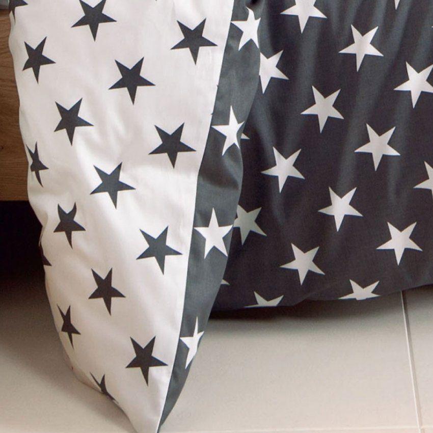 Biber Bettwäsche Sterne von Biber Bettwäsche Sterne Grau Bild
