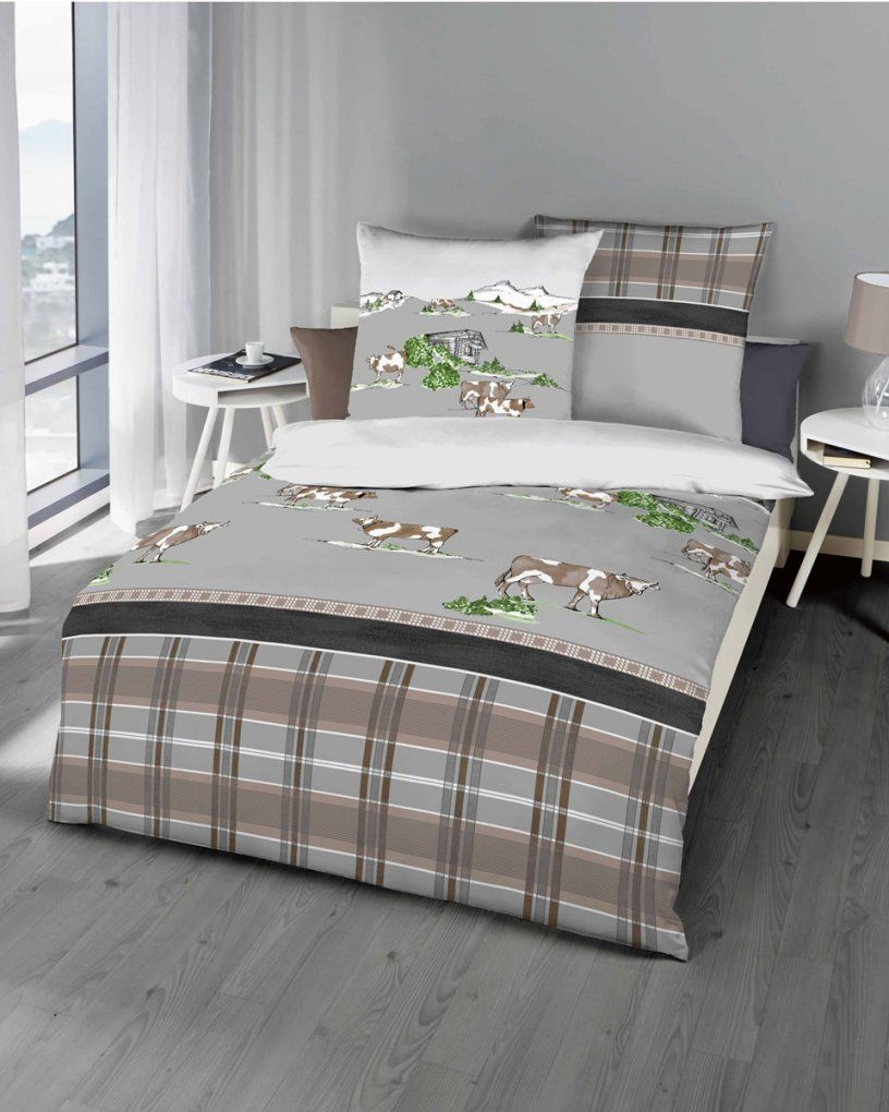 biber bettw sche weihnachten motiv eisb r in stein grau von weihnachts bettw sche 155x220 bild. Black Bedroom Furniture Sets. Home Design Ideas