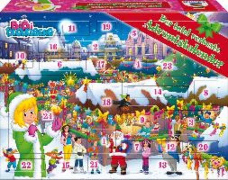 Bibi Blocksberg Adventskalender Adventskalender  Real von Bettwäsche Bibi Blocksberg Photo