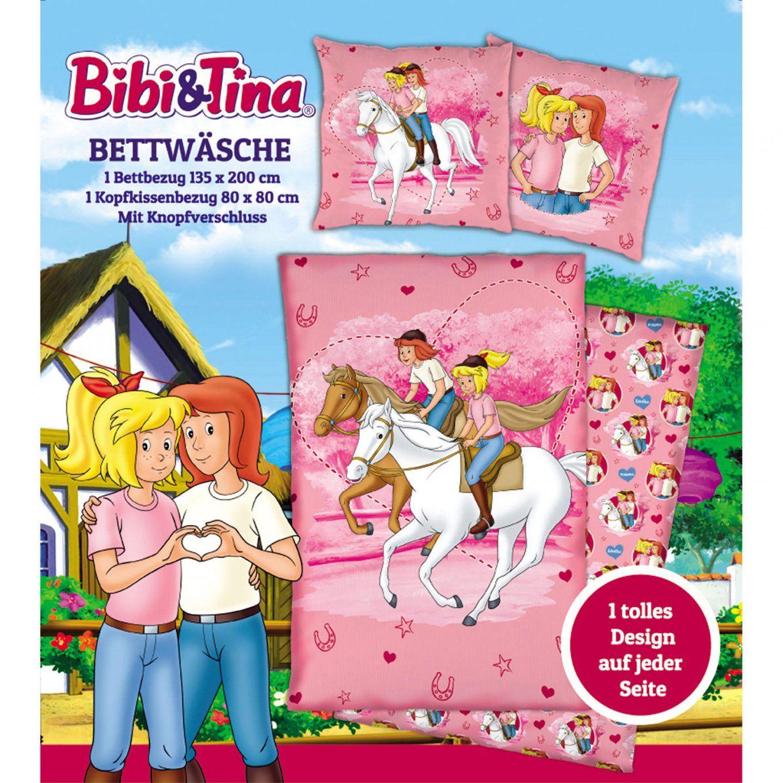 Bibi Und Tina Kinder Bettwäsche 135X200 Bettzeug Kinderbettwäsche von Bibi Blocksberg Bettwäsche Photo