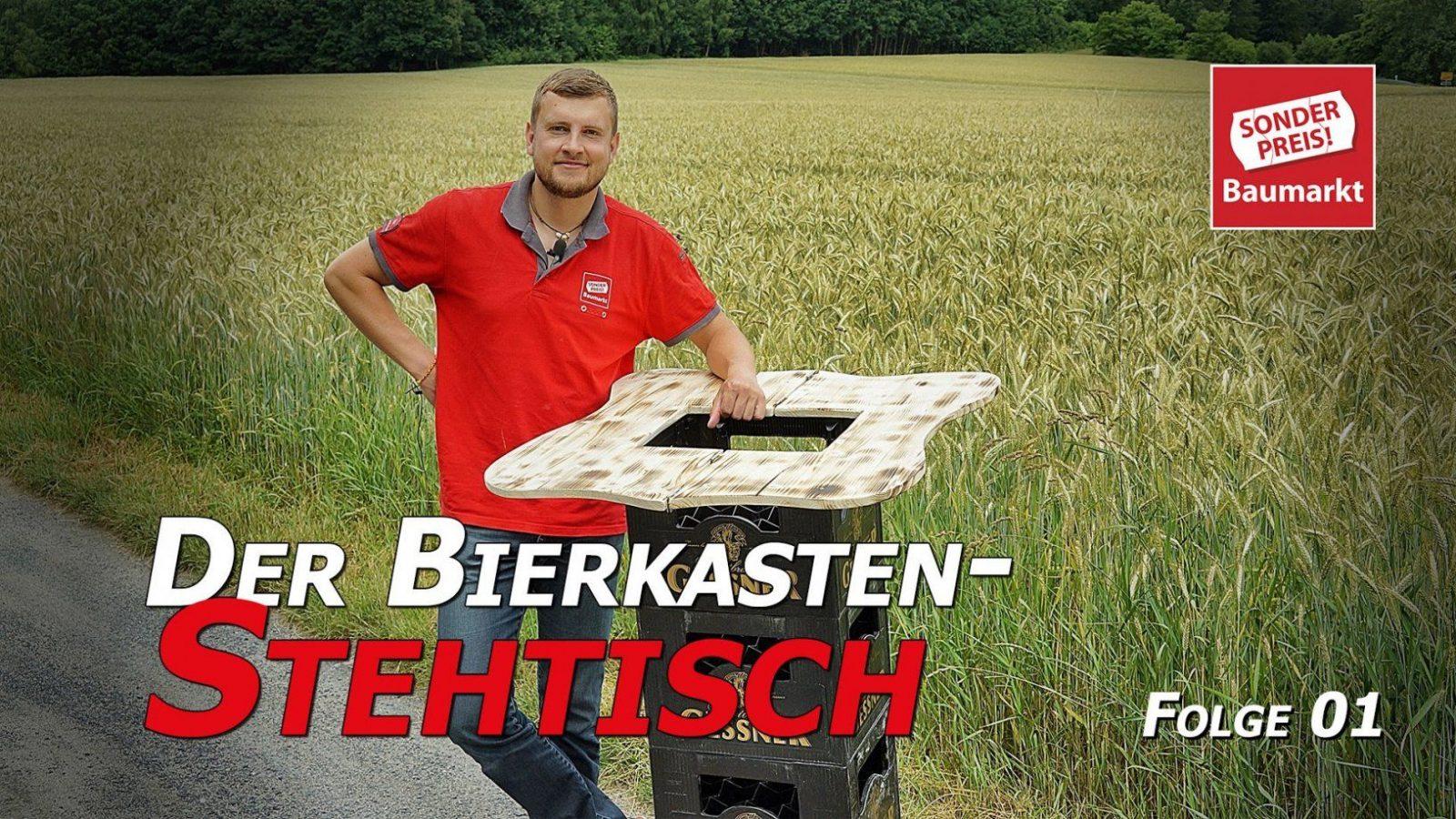 Bierkisten Stehtisch Unter 1500 Euro Selber Bauen  Folge 01  Youtube von Theke Selber Bauen Bierkästen Bild