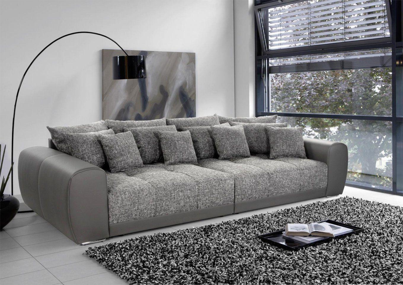 Big Sofa Mit Schlaffunktion Und Bettkasten Couch Grau Schwarz von Big Sofa Mit Schlaffunktion Und Bettkasten Bild
