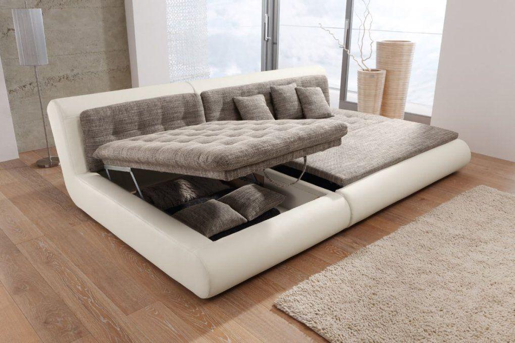 Big Sofa Mit Schlaffunktion Und Bettkasten  Cwzk von Rattan Couch Mit Schlaffunktion Bild