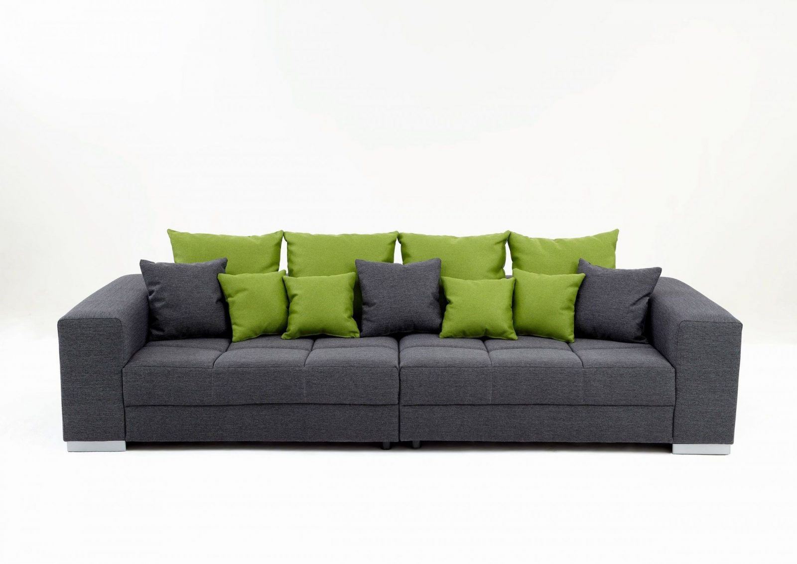 Miniküche Mit Kühlschrank Möbel Boss : Big sofa swing stoffbezug graugrün ca cm möbel boss