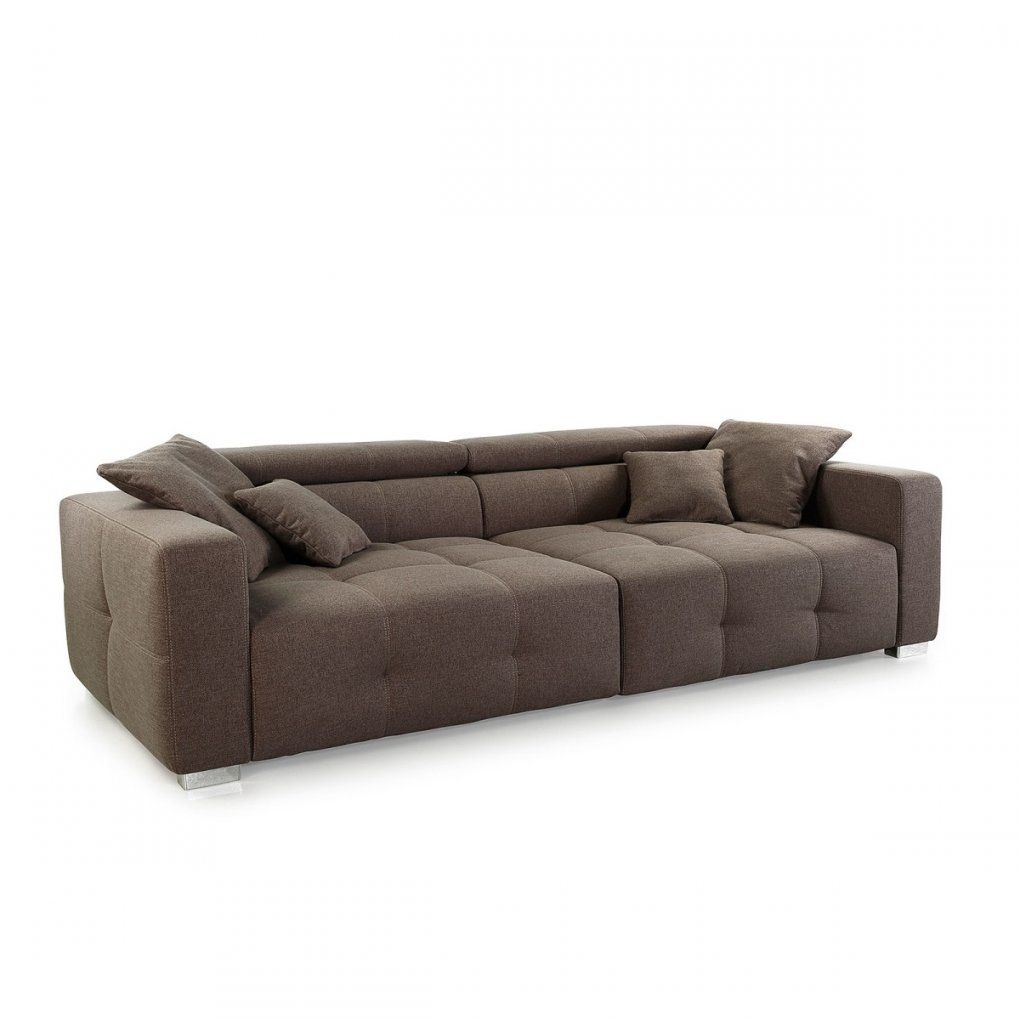 Big Sofa Trento Strukturstoff Braun Ca 289 X 95 X 123 Cm  Möbel Boss von Möbel Boss Big Sofa Bild