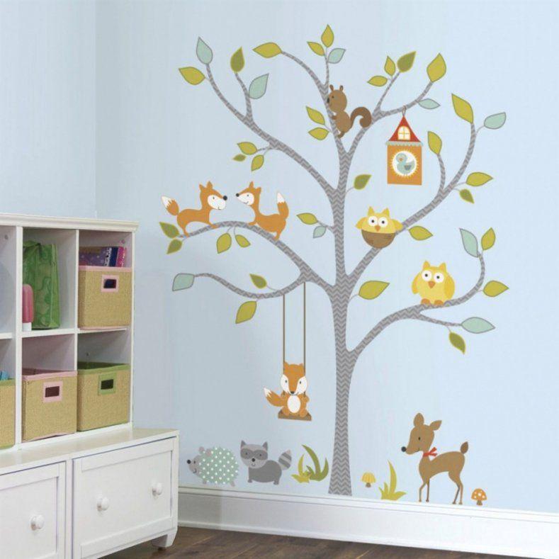 Bild An Wand Malen Mit Tolles Wohndesign Babyzimmer Wande Gestalten von Vorlage Baum Für Wand Bild