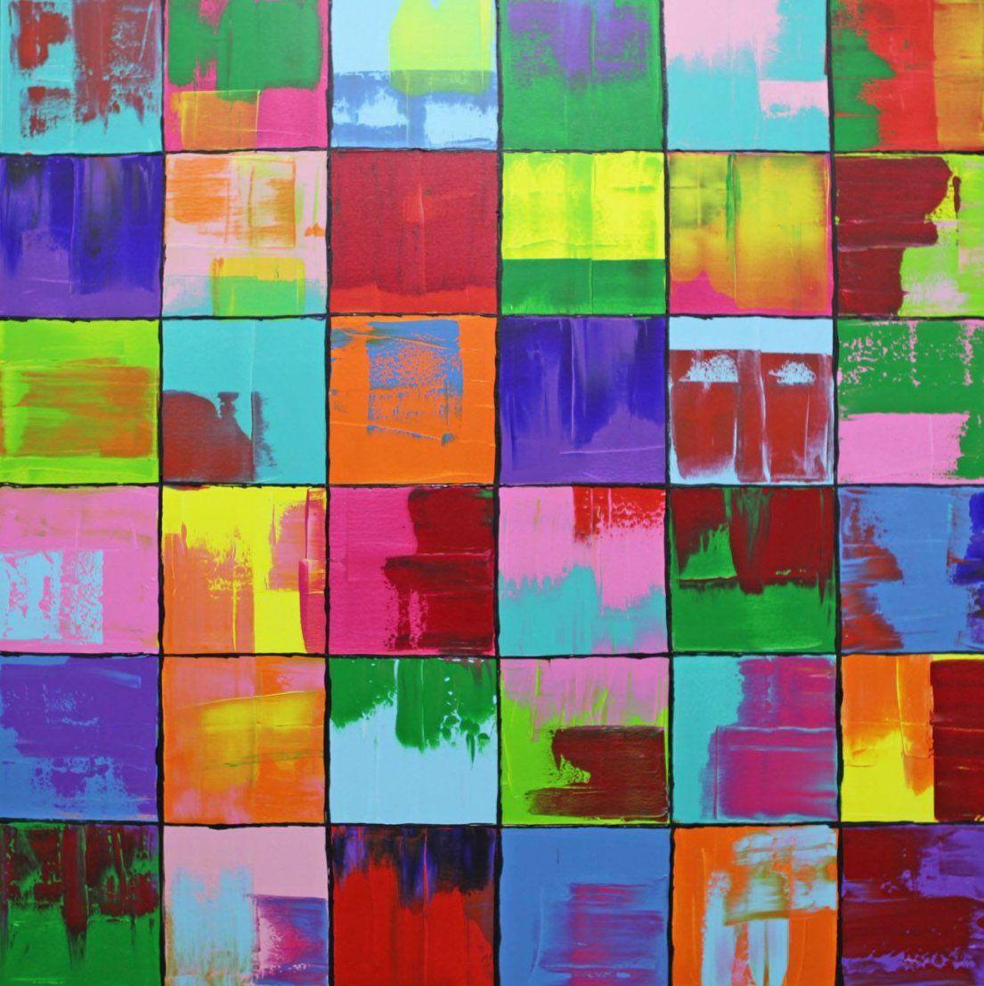 Bild Gemälde Bunt Abstrakt Malerei Von Michael Pfannschmidt Bei von Bilder Acryl Modern Abstrakt Photo