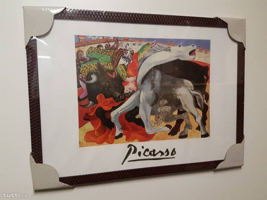 Bild Picasso In Berne Acheter  Tuttich von Paloma Picasso Bettwäsche Photo