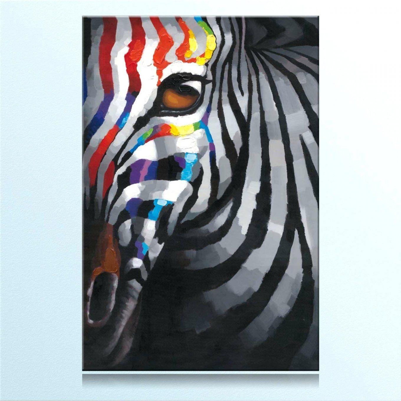 Bild Zebra 8 Keilrahmenbild Auf Leinwand Gedruckt Und Echtem von Zebra Bilder Auf Leinwand Bild