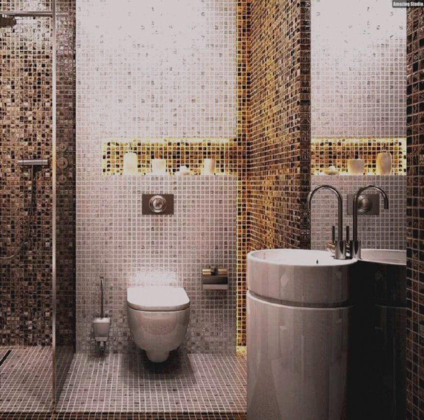 Bilder Badezimmer Gold Mosaik Fliesen Messe Bad Wohndesign von Mosaik Fliesen Türkis Bad Photo