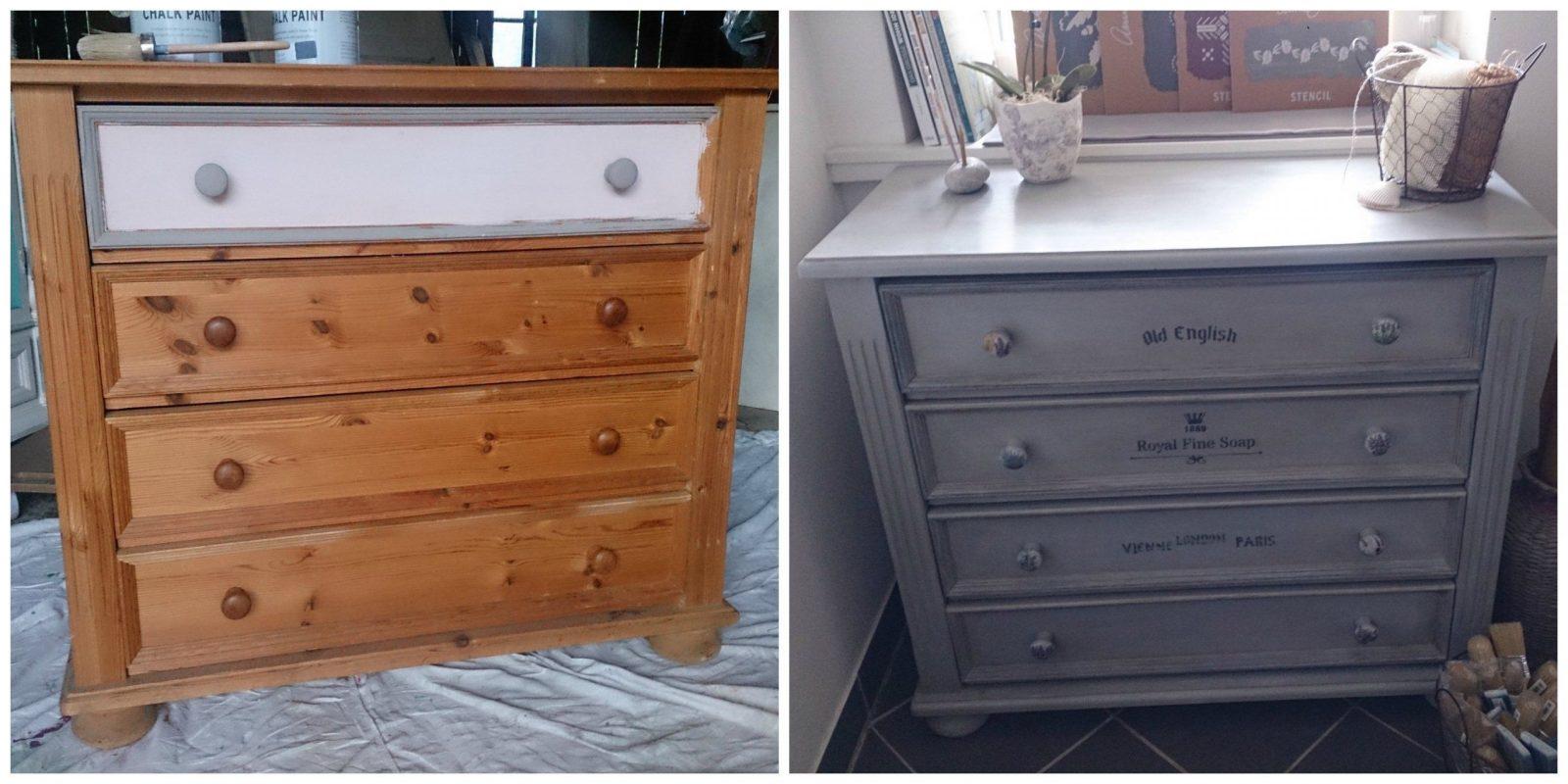 Bilder Diy Möbel Vorher  Nachher von Möbel Aufpeppen Vorher Nachher Photo