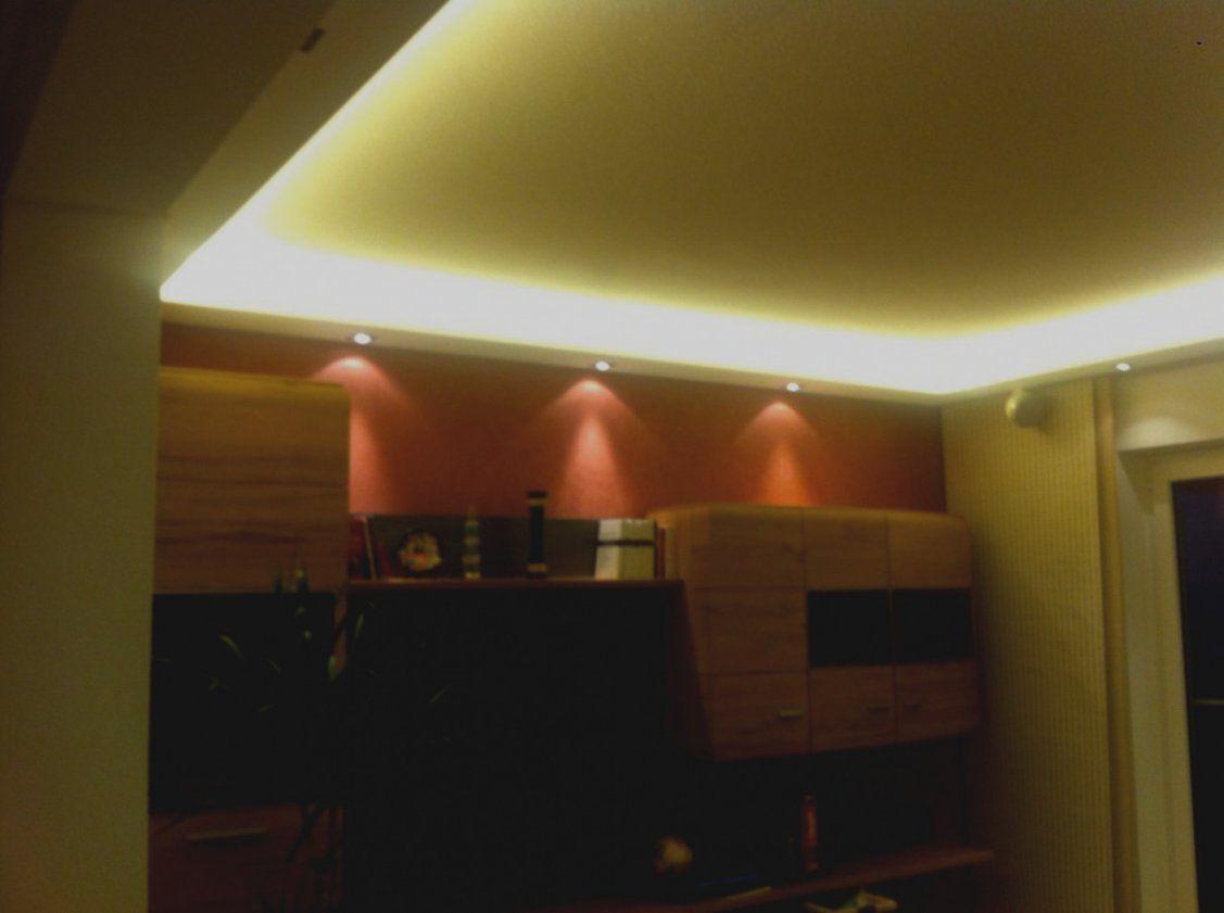 Bilder Indirekte Beleuchtung Wohnzimmer Selber Bauen Decke Spots von Indirekte Beleuchtung Wohnzimmer Selber Bauen Bild