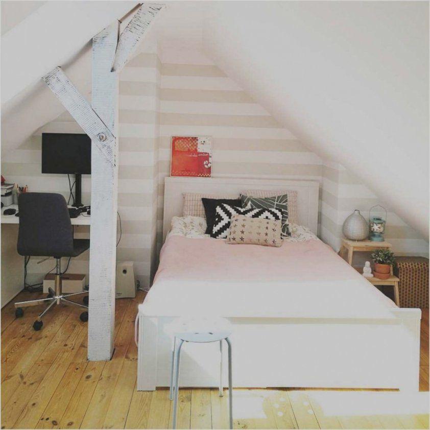 Schlafzimmer Ideen Wandgestaltung Dachschräge