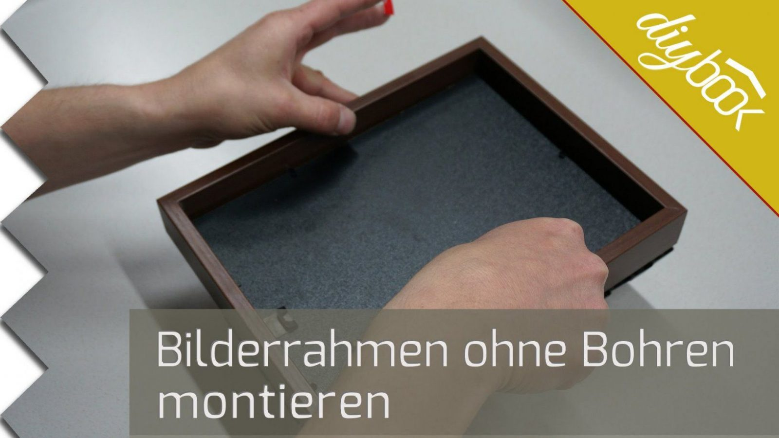 Bilderrahmen Ohne Bohren Aufhängen  Youtube von Ikea Bilderrahmen Ribba Aufhängen Photo
