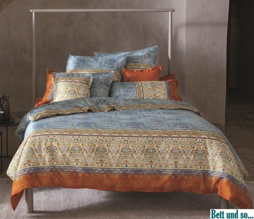 Blau  V3 Bettwäsche Luini Im Maß 155X220 Von Bassetti  Bett Und So von Bettwäsche Bassetti 155X220 Photo