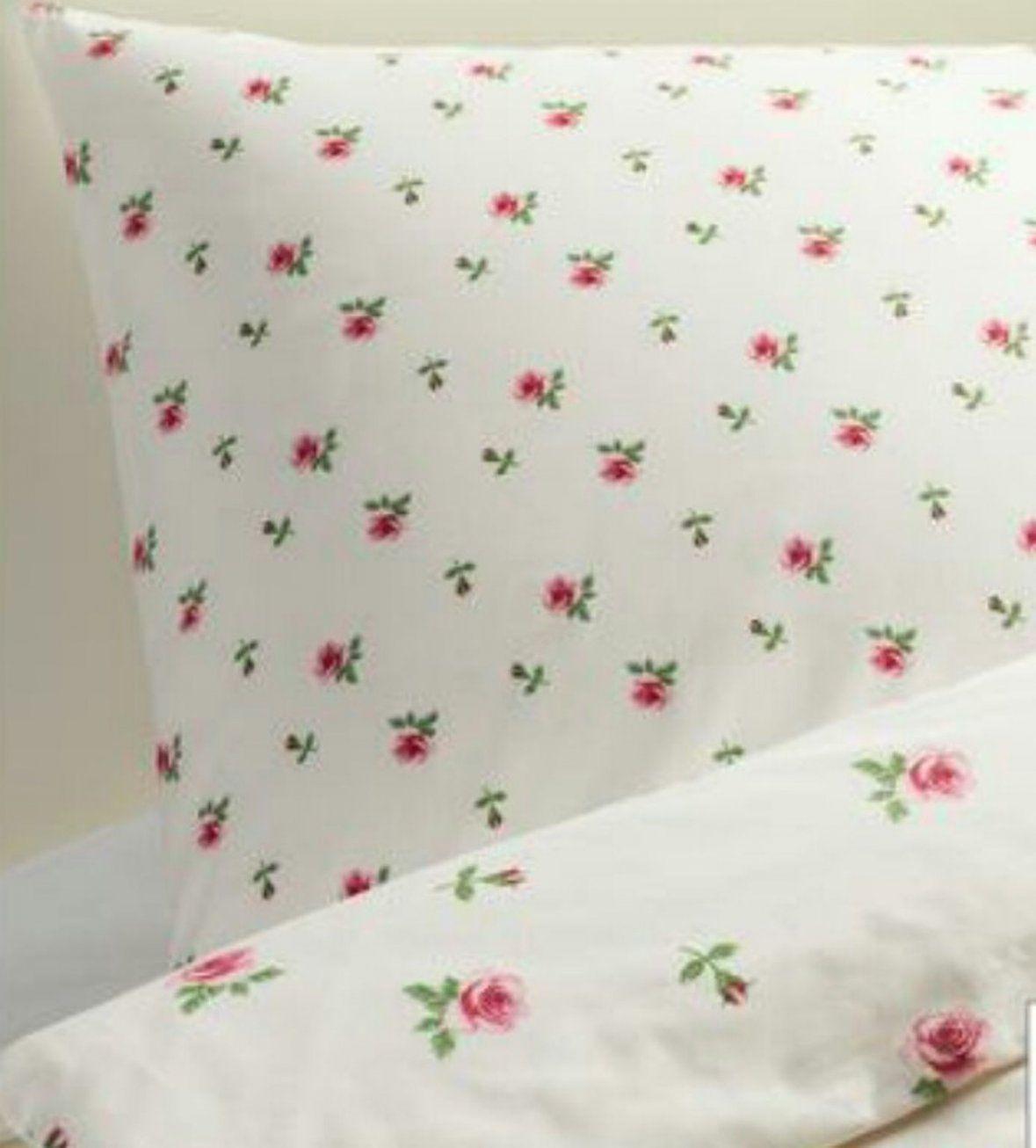 Blumen Bettwäsche  Ontspannenjezelfzijn von Ikea Satin Bettwäsche Bild