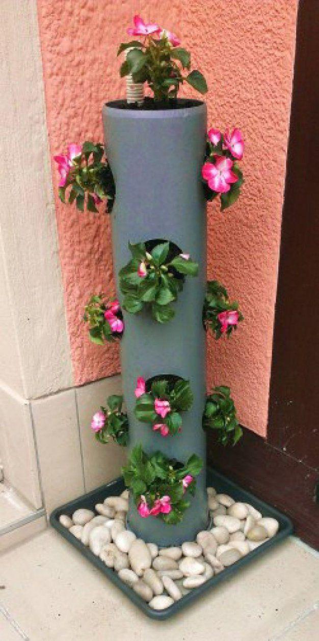 Blumensäule Holz Selber Bauen von Blumenständer Holz Selber Bauen Photo