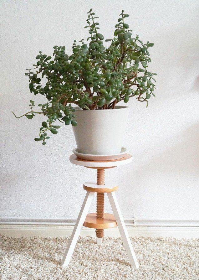 Blumenständer Selber Bauen  12 Ideen Aus Metall Und Holz von Blumenständer Holz Selber Bauen Bild