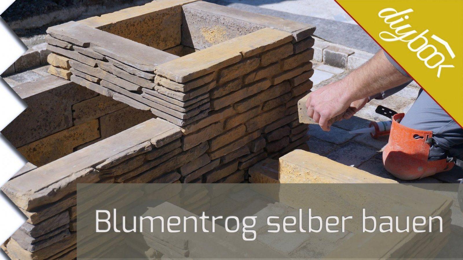 Blumentrog Selber Bauen  Eine Aufbauanleitung  Youtube von Holz Blumenkübel Selber Bauen Bild